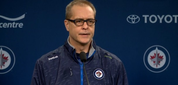 Coach Maurice pre-game chat