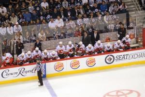 Flames bench (April 11)