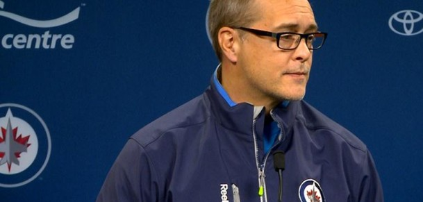 Coach Maurice before game 3