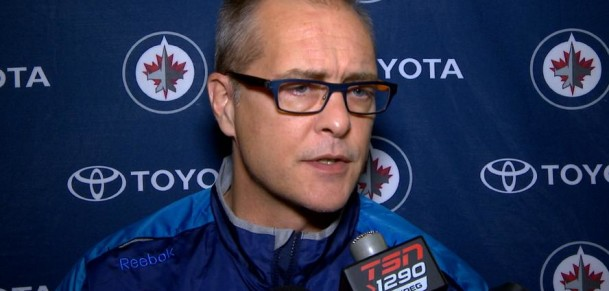 Coach Maurice before game 4