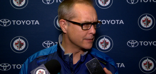 Coach Maurice in Minny