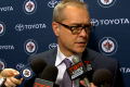 Coach Maurice post Wild game