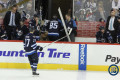 Perreault heads to dressing room