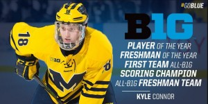 Kyle Connor Big 10 Conference