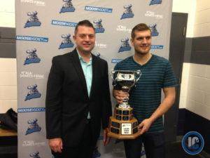 Brenden Kichton wins leading scorer award
