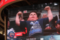 Flex Cam kid on Jumbotron