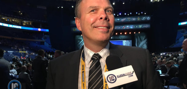 Jets GM Kevin Cheveldayoff end of draft scrum 2016