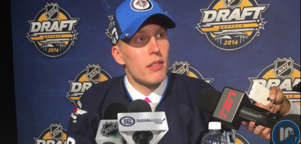 Patrik Laine post draft chat