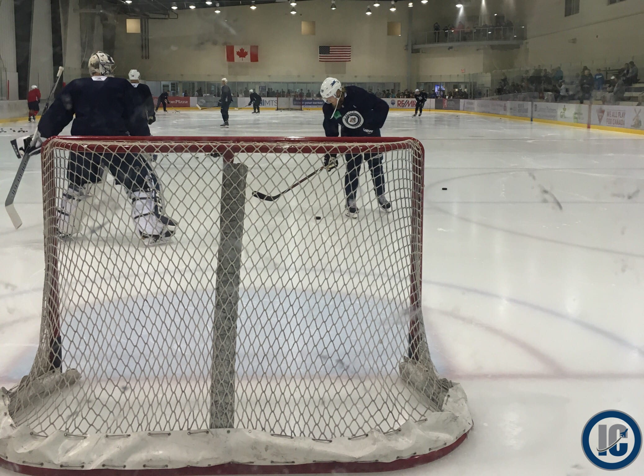 buy popular 1fc9a 2e52a Winnipeg Jets Playoff Practice Report – Illegal Curve Hockey
