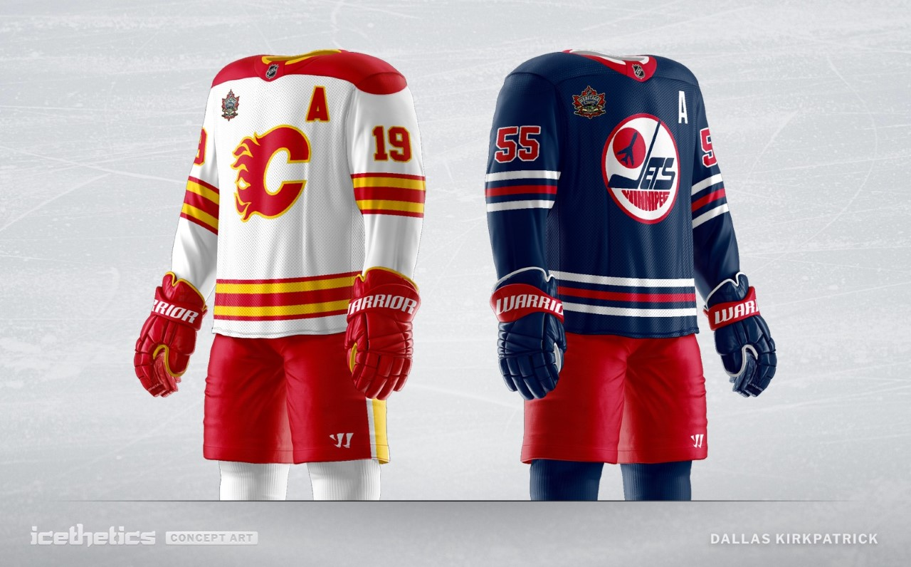 new arrival f3666 02ef3 Concept Art: Winnipeg Jets Heritage Classic jersey | Illegal ...