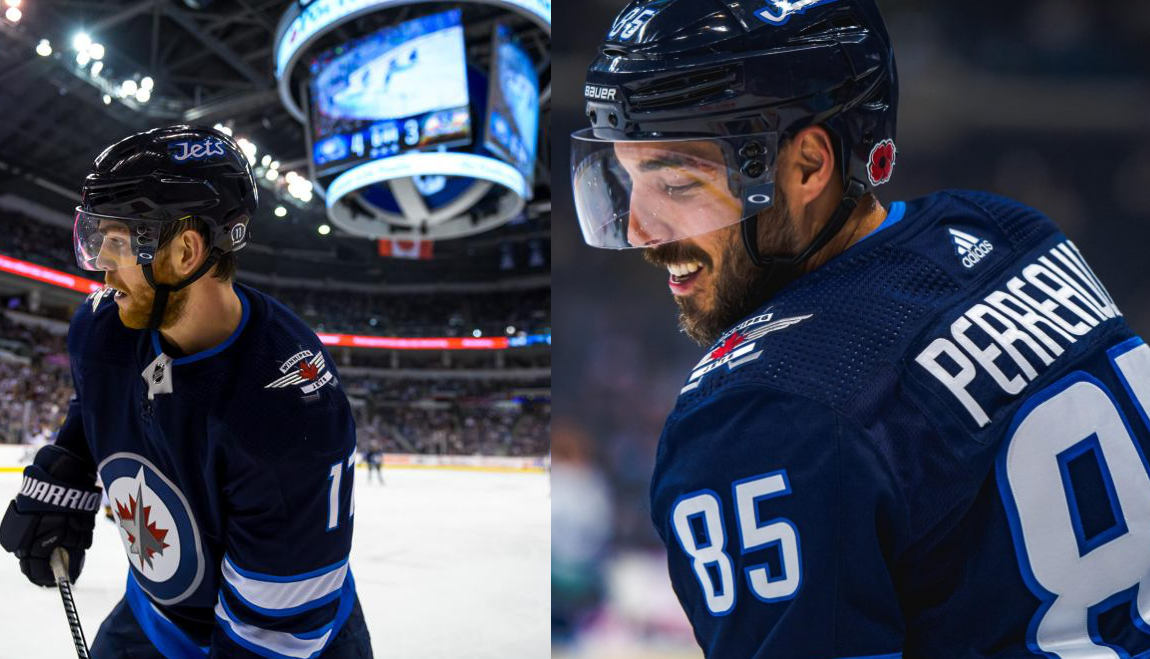 Winnipeg Jets Injury Updates Adam Lowry Not Quite Ready To Return While Mathieu Perreault Is An Option Against Vegas Illegal Curve Hockey