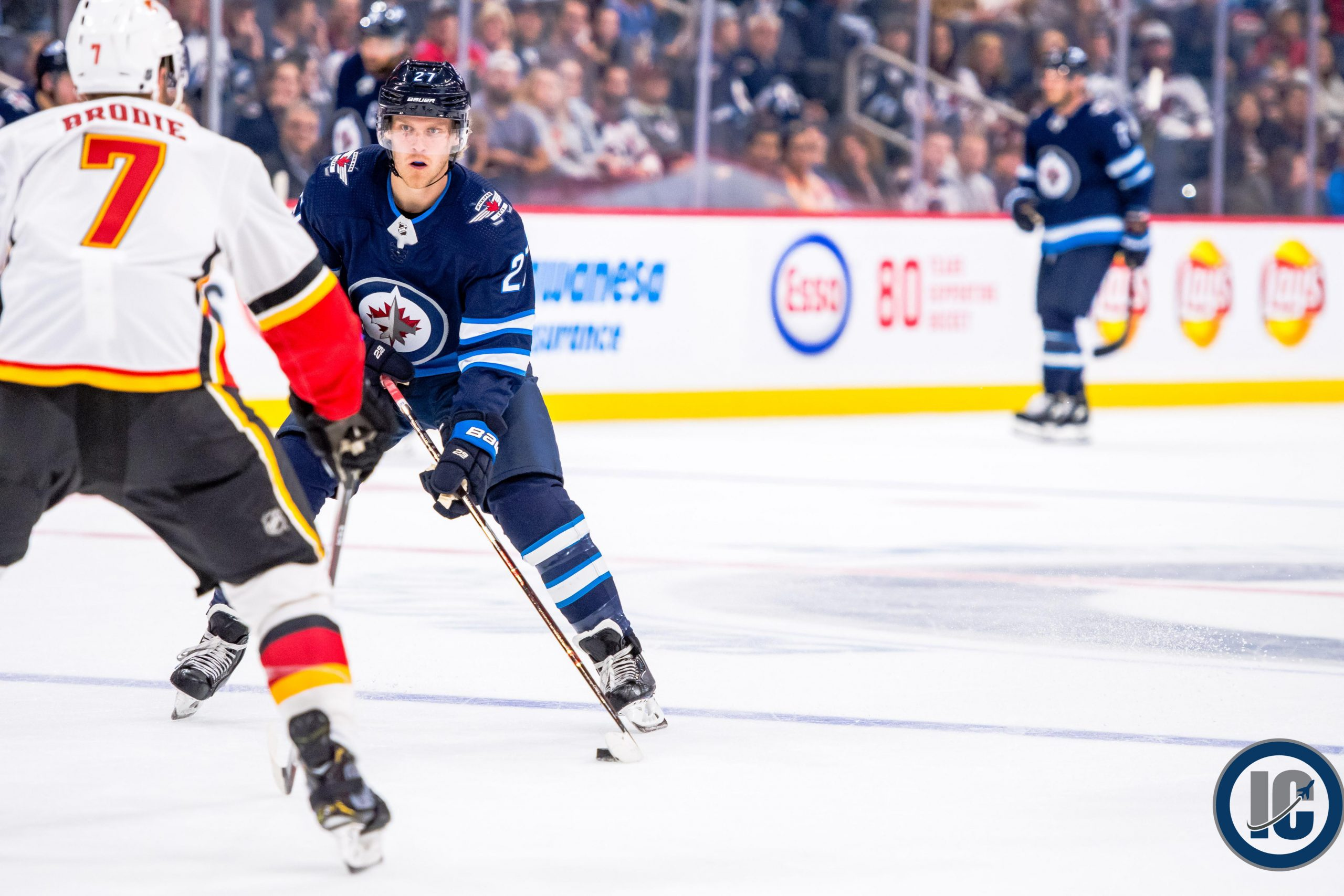 Winnipeg Jets Morning Papers Illegal Curve Hockey